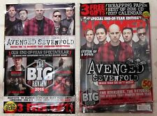 METAL HAMMER + Free CD Jan 2017 + FREE CALENDAR Baby Metal AVENGED SEVENFOLD New