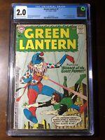 Green Lantern #1 (1960) - Premiere Issue! Origin Story! - CGC 2.0 - Key!