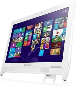 "Lenovo  All In One C260 Intel J2900 White 4GB Ram 1TB 19.5"" Windows 8.1"