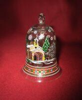 Hutschenreuther Weihnachtsglocke Glocke Kristall 1993 Provenze Rudolf Pastor