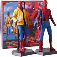 Crazy Toys Spider-Man Homecoming Deluxe Version PVC Action Figure Model Toy