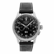 Zenith El Primero Pilot Chrono Auto 42mm Steel Mens Watch 03.2410.4010/21.C722