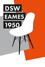Stampa incorniciata-Charles & Ray Eames, DSW Sedia POSTER (PICTURE Knoll Bertoia)