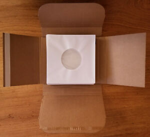 100 pochettes papier doublées en polyéthylène DISQUES 45 TOURS VINYLES