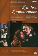 Gaetano Donizetti - Lucie de Lammermoor (DVD, 2004) - ALL REGION - VERY GOOD