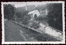 Uzerche . Corrèze . photo ancienne . 1946