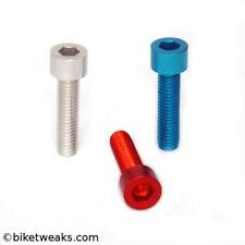 Aluminum M5 x 10mm bolt (7075 Aluminium!) / BLUE anodized (sold per 10 pieces)