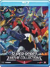 SUPER ROBOT MOVIE COLLECTION VOLUME 1 MAZINGA MAZINGER BLU RAY  NUOVO