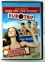 Euro trip DVD Versione Integrale Copia Noleggio SB RARO Film Cinema Italiano