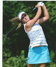 Lexi Thompson Signed Autographed 8x10 photo Red Bull RARE Proof