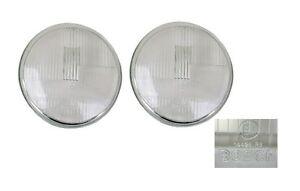 H1 Headlight Lens, Set of 2, 911/912/930/912E (67-86), 911.631.111.00