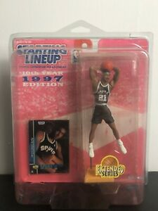 1997 Rookie Starting Lineup NBA Tim Duncan Spurs Extended New in Case