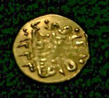 Turkish Gold Coin AD 1808 / 1223 AH - 11mm - .43 Grams TURKEY