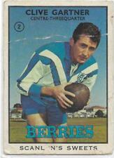 1968 B Nrl Rugby League Scanlens (2) Clive GARTNER Bulldogs ::