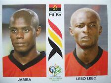 Panini 304 Jamba / Lebo Lebo Angola FIFA WM 2006 Germany