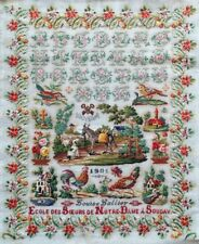 10% Off Reflets de Soie Counted X-stitch chart - Louise Lallier 1901