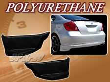 FOR 05-10 SCION TC SPORT STYLE REAR BUMPER LIP BODY SPOILER KIT POLY URETHANE PU