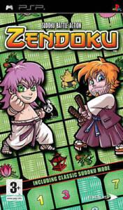 ZENDOKU sudoku battle action psp sony NUOVO SIGILLATO Italiano gioco game