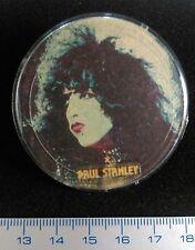 Pin Badge Soviet Underground original Rock Paul Stanley (KISS)USSR Russia.RARE++