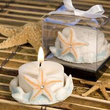 Matrimonio tema mare bomboniera portacandeline porta candele confezione scatolo