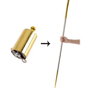 150cm/110cm Magic Telescopic Rod Pocket Metal Staff Martial Arts Toy Portable