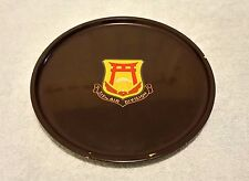 Vintage Bambo Lacquer Ware Round Tray 315th Air Division Okinawa Japan Plate