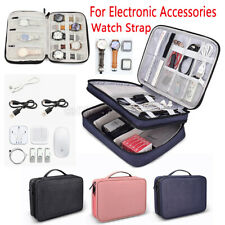 Cable Organizer Bag Digital Watch Storage Headphone Charger Case Travel Portable