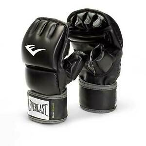 Everlast Wrist Wrap Heavy Bag Gloves S/M Boxing MMA 4301SM
