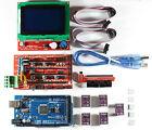 RAMPS 1.4 Set / Kit para RepRap 3d impresión,Mega 2560 ,5xdrv8825,12864 LCD