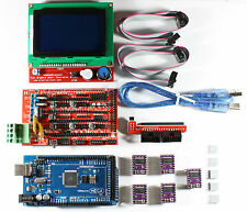 RAMPS 1.4 Set/Kit for RepRap 3D Printer, Mega 2560, 5xDRV8825, 12864 LCD Arduino