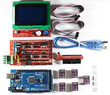 Ramps 14 Setkit For Reprap 3d Printer Mega 2560 5xdrv8825 12864 Lcd Arduino