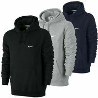 Nike Mens New Club Fleece Hoodie Hoody Hooded Sweatshirt Jumper Swoosh Pullover