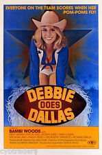 Debbie Does Dallas Bambi Woods  1970's Adult  Refrigerator / Tool Box Magnet