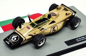 Atlas 1/43 Scale - Lotus 56B 1971 Emerson Fittipaldi Diecast Model F1 Car