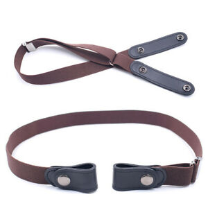 Buckle-Free Invisible Elastic Waist Belts Easy Belt For Women men Invisible B L1