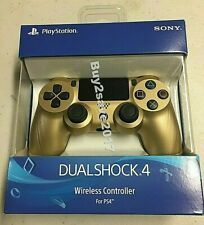 Sony PlayStation Dualshock Wireless Controller Gold PS4 *Brand New* Sealed