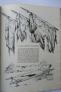 Ceux que disent nos morts 1916 Anatole France ill-Bernard Naudin