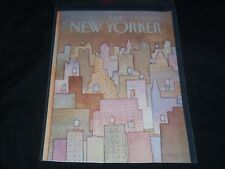 1981 APRIL 27 NEW YORKER MAGAZINE FRONT COVER ONLY - GREAT ART FOR FRAMING
