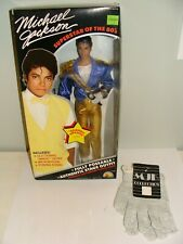 VINTAGE 1984 LJN MICHAEL JACKSON DOLL GRAMMY AWARDS OUTFIT w/ extra gloves