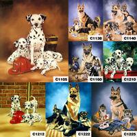 Winter Dog Full Drill 5D Diamond Painting DIY Cross Stitch Kits Home Mosaic Art