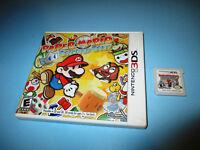 Paper Mario Sticker Star (Nintendo 3DS) XL 2DS Game w/Case (No Manual)
