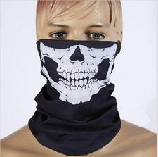 Men Women Motorcycle Bike Skull Headwear Hat Scarf Face Mask Cap Bandana Scarves