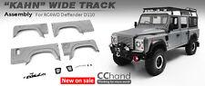Kahn Style Wide Body Fenders for RC4WD Gelande II Defender D110 Body