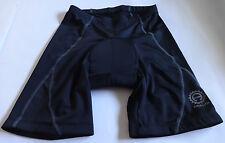 Adalid Gear Padded Black Bike Cycling Shorts Underwear Sz M / Medium Unisex NWOT