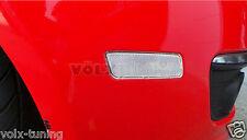 06-09 VW MK5 RABBIT/GTI/JETTA FRONT BUMPER SIDE MARKER LIGHTS - CLEAR - PAIR