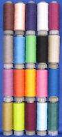 20 Spools of All Purpose Polyester Sewing Thread Cottons *Free UK Postage