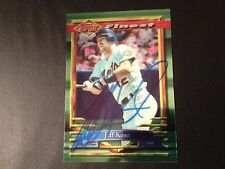Jeff Kent 1994 Topps Finest Signed Auto Card