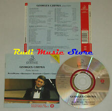 CD GEORGES CZIFFRA Piano recital BACH BEETHOVEN CHOPIN LISZT ERMITAGE lp mc dvd