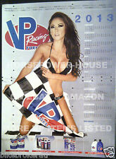 2013 VP RACING FUELS GARAGE SHOP HOT GIRL BIKINI PIN UP POSTER CALENDAR JENNIFER