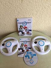 Nintendo Wii Spiel Mario Kart mit 2 Lenkräder